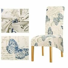 Printed Butterfly Back King Big Size Chair Covers For Fashion Hotel Decorations