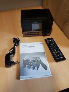 VR-Radio WLAN-Stereo-Internetradio, DAB+, Wecker, USB