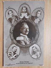 Postkarte Original Unser Kaiser