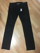 NWD MEN MADE ITALY Diesel SAFADO STRETCH Denim 0842K BLACK R/Slim W29 L32 H7