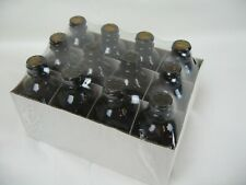 New 12 2-oz Amber Colored VivaPlex Bottles with Eye Droppers - FREE Shipping!