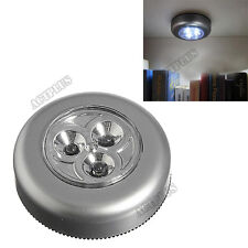 Touch Stick Tap Night LED Light For Cabinet Closet Wall lamp new
