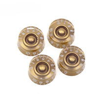 Musiclily Pro 4Pcs Gold Left Handed Inch Control Knob For USA Les Paul LP Guitar
