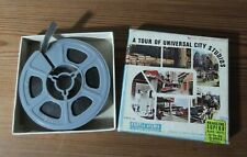 Cinta Pelicula Super 8mm.B/N Castle Films A Tour of Universal City Studios