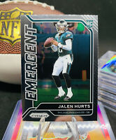 Jalen Hurts RC 🌈💎 Prizm Silver Rookie 🚨🧨 Invest 2020 Eagles 💵💰 Rare ⚡️❄️