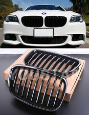 X2 INDIVIDUAL GLOSS BLACK KIDNEY GRILLS for BMW 5 Series F07 GT Gran Tourismo M5