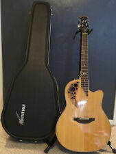 Ovation Standard Elite LX 6778LX! Immaculate condition! Matched hardshell case!