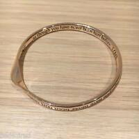 ROSE GOLD plated nickel free engraved INSPIRATIONAL | love LIVE dance SING *UK*