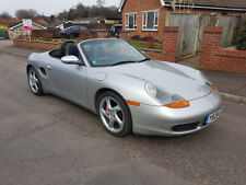 2001 Porsche Boxster 3.2S 75,000 miles FSH, Black Leather, P/X Welcome