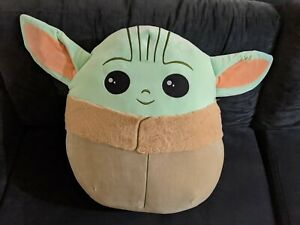 "BABY YODA The Child Squishmallow 20"" Star Wars Mandalorian Disney Jumbo XL"