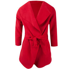 Mädchen - Mantel - Jacke - Rot - 104-164