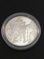 2000 FRANCE MILLENNIUM YVES SAINT LAURENT 10 TEN FRANC SILVER PROOF COIN