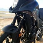 2pcs Big Size 10.63''Black Motorcycle Front Fork Cover for Honda Yamaha Kawasaki
