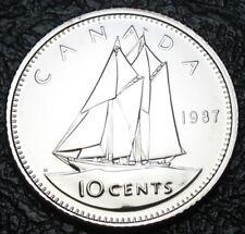 RCM - 1987 - 10-cents - Specimen - Uncirculated