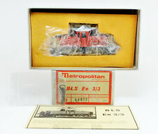 METROPOLITAN HO SCALE BRASS SBB BLE Ee 3/3 ELECTRIC ENGINE FACTORY PAINTED
