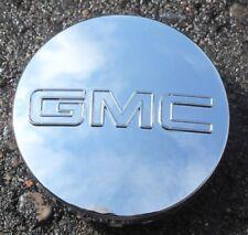 "GMC Sierra Yukon Denali Chrome Center Caps Long Clip, 3-1/4"" Diameter One Cap"