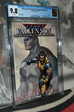 Fallen Son: The Death of Captain America #1 CGC 9.8 Wolverine 1of2 covers