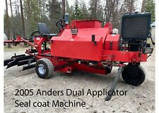 Asphalt Sealcoating Machine with Squeegees and Hydraulic Spray Pump Low Hours