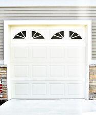 Garage Door Vinyl Decals Sherwood Style Faux Windows Vinyl Only #D1