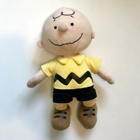 Peanuts Charlie Brown Kohls Cares 13 inch Soft Plush Toy Stuffed Doll Gift