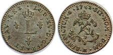 LOUIS XV DOUBLE SOL (2 SOUS) 1762 BB STRASBOURG G.281