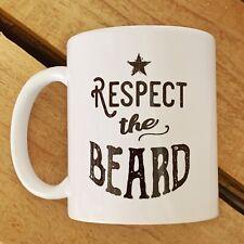 Respect The Beard Ceramic Mug