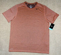 Nike sz XL Men's SPHERE SHORT SLEEVE CREW TRAINING SHIRT New 588680 828