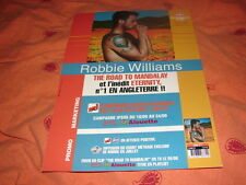 ROBBIE WILLIAMS ROAD TO MANDALAY!!RARE FRENCH PRESS/KIT