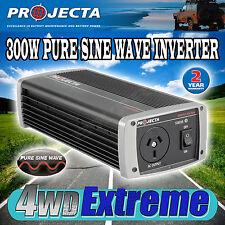 PROJECTA IP300 12V TO 240V 300WATT PURE SINE WAVE POWER INVERTER 12 VOLT LAPTOP