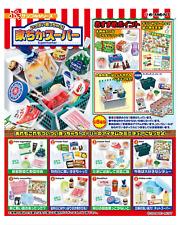 NEW  Miniature Supermarket complete box set - Re ment   , #1ok