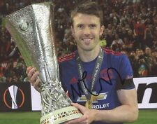 """~~ MICHAEL CARRICK Authentic Hand-Signed """"CAPTAIN Manchester United"""" 8x10 Photo~"""