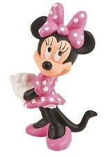 Minnie Mouse Figurine - Disney Bullyland Clubhouse Toy Figure Cake Topper