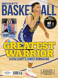 New JUNE 2021 Beckett BASKETBALL Card Price Guide Magazine W/ STEPH CURRY 521702