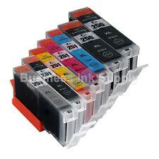 7* PK PGI-250 CLI-251 Ink Tank for Canon Printer Pixma MG6320 MG7120 iP872 2PGI