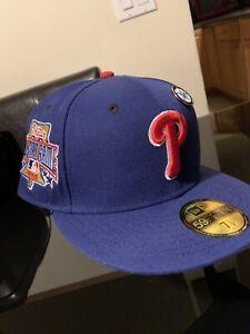 Philadelphia Phillies New Era Fitted Hat Club Exclusive Icy Blue UV Cap 7 1/2