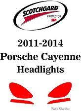 3M Scotchgard Paint Protection Film Clear 2011 2012 2013 2014 Porsche Cayenne