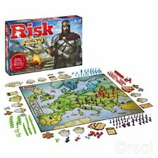 New Hasbro Risk Europe Board Game Enhanced Game Of Medieval Conquest Official