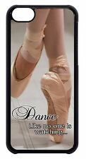 Ballet Ballerina Dancer Shoes Black Case Cover for iPhone 4 4s 5 5s 5c 6 6+