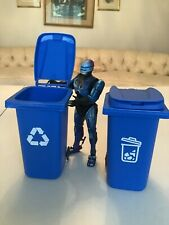 """1/12 6"""" Scale Action Figure Garbage Can Lot Custom Figure Fodder NECA WWE"""