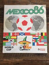 BEAUTIFUL panini mexico 86 world cup Complete album WC 1986