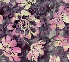 Hoffman Batik Bali Chop Flower and Grass K2453-453 Dahlia Cotton Batik Fab BTY