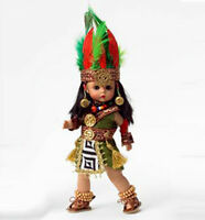 "New n Box Madame Alexander 8"" Mexico Country International Mexican Indian Doll"