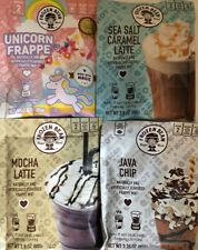 Frozen Bean Frappe Mix Sea Salt Caramel Latte,Java Chip, Unicorn, Mocha Latte!!!
