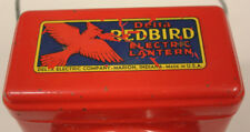 Delta Red Bird Electric Lamp