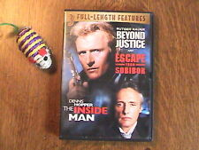 Beyond Justice/Escape From Sobibor/The Inside Man - DVD
