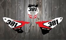 GAS GAS EC XC ENDURO BACKGROUNDS NUMBER BOARDS GRAPHICS 200 250 350 300
