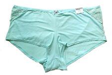 Lane Bryant Cacique Aqua No Show Boyshort Panties Plus 22/24 26/28
