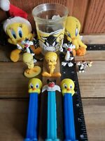Vintage Looney Tunes Tweety Bird & Sylvester Collectibles LOT of 11