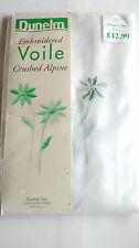 Voile Floral Curtains & Pelmets