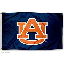 AUBURN TIGERS FLAG LARGE 3'X5' UNIVERSITY OF AUBURN: FREE SHIPPING